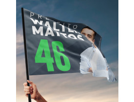 Bandeira de Mão para Campanha Política - Medida 0.70x1.00m