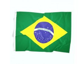Bandeira do Brasil - Oficial em Cetim