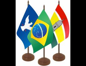 Kit Brasil + Capitais de Mesa