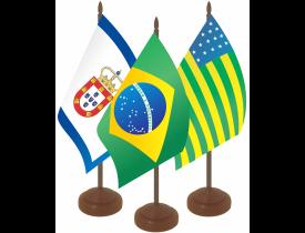 Kit Brasil + Históricas de Mesa
